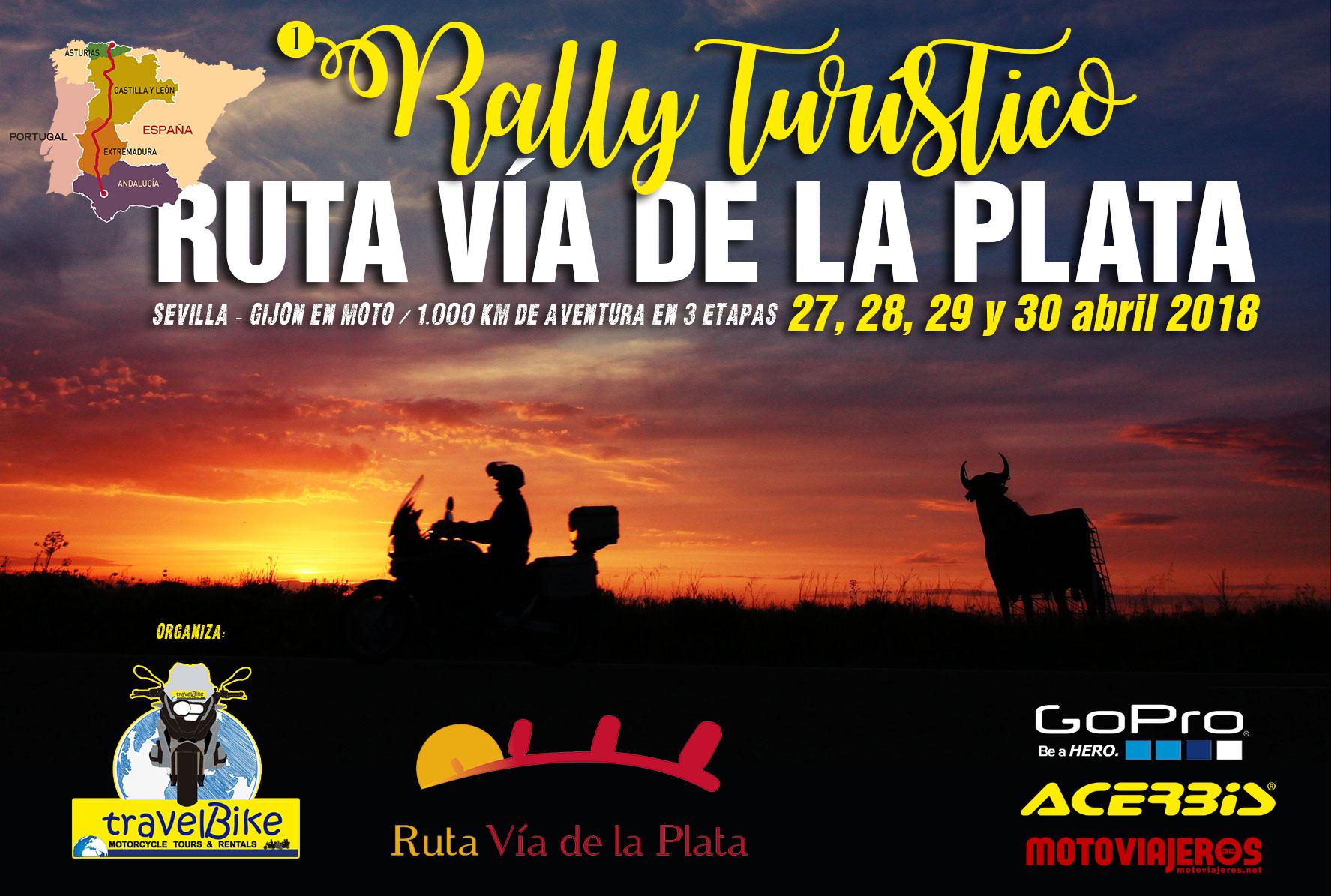 Rally Turístico Ruta Vía de la Plata 2018